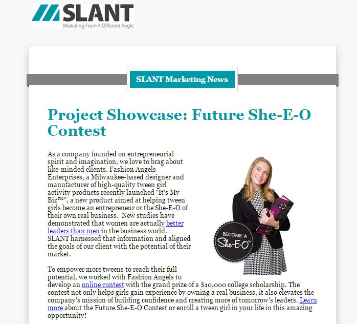 Slant September Newsletter